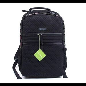 Vera Bradley Classic black tech laptop backpack